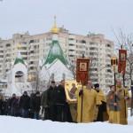 икона Пояс Пресвятой Богородицы в Новокосино