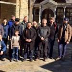 В Ватопедском монастыре на праздник Сретения