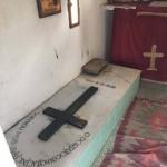 Могила старца Иосифа Исихаста в его скиту